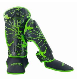 BOOSTER Booster Shin Guards Youth Marble Green