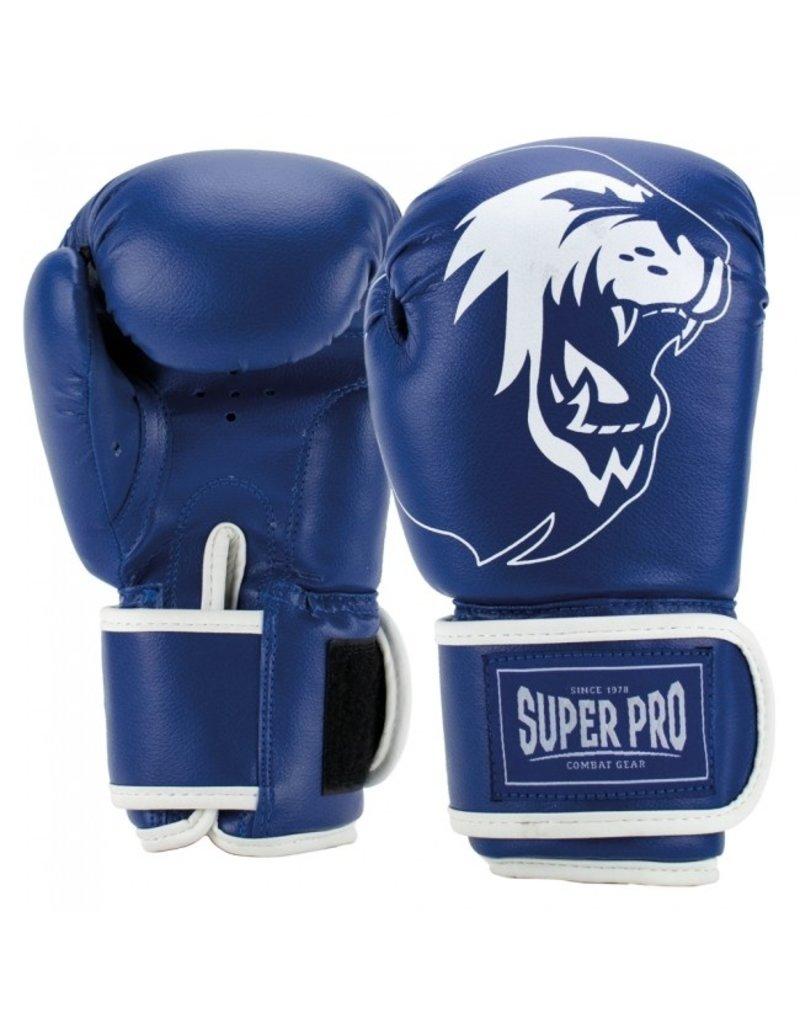 Super Pro Super Pro Combat Gear Talent (kick)bokshandschoenen Blauw/Wit