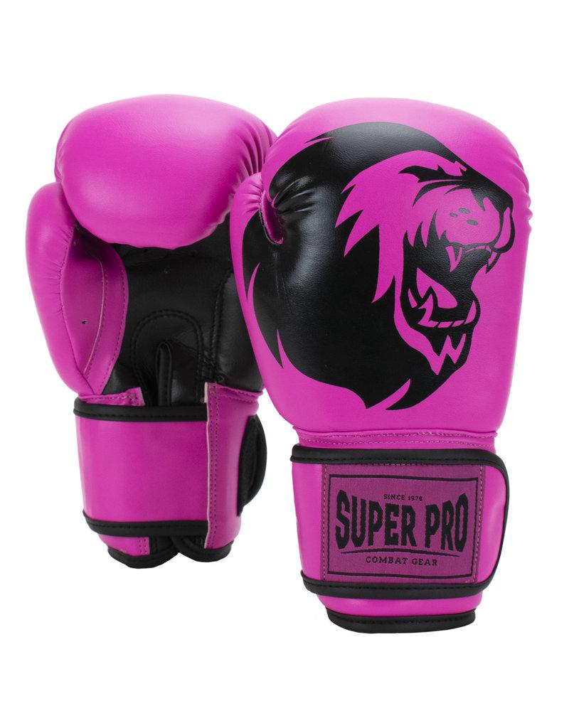 Super Pro Super Pro Combat Gear Talent (kick) boxing gloves Pink/Black