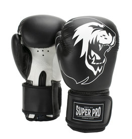 Super Pro Super Pro Combat Gear Talent (kick) boxing gloves Black/White