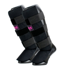 Super Pro Super Pro Combat Gear Shin Guards Savior Black/Pink