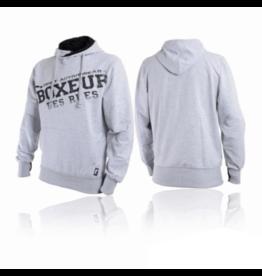 Boxeur des Rues Hoodie Grey Melange
