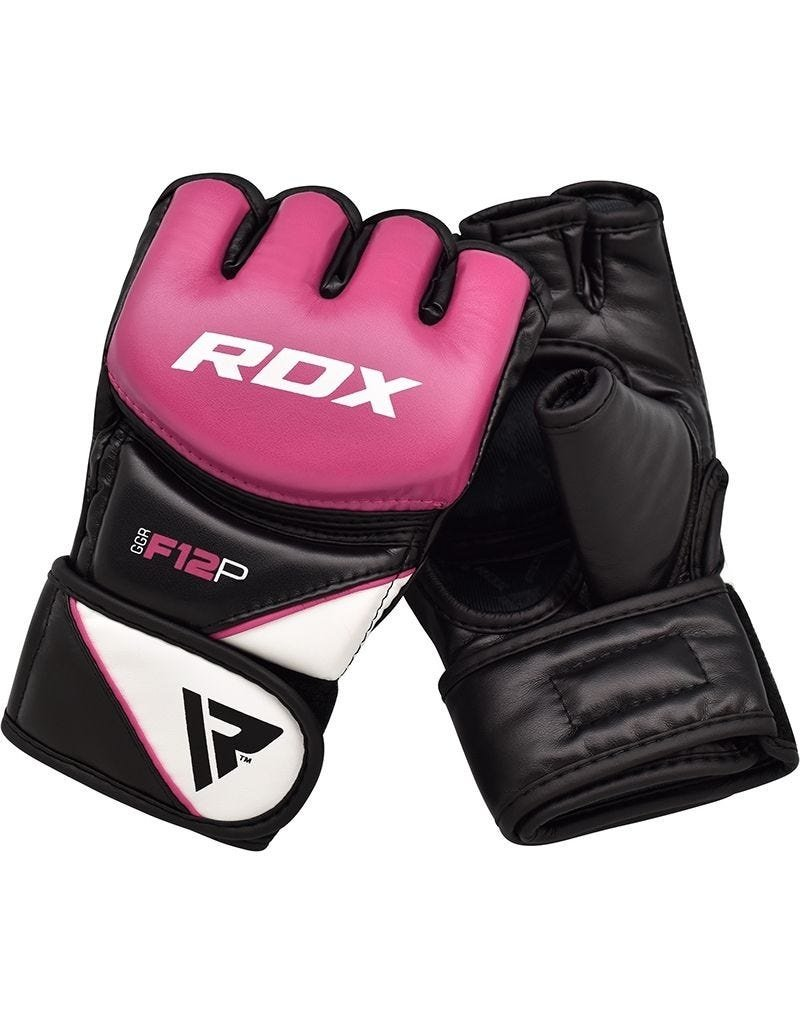 RDX SPORTS RDX F12 Pink MMA/Grappling Gloves