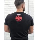 ISAMU Kyokushin Fighter 'Jakku' T-shirt Zwart
