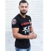 ISAMU Kyokushin Fighter 'Jakku' T-shirt Black