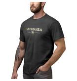 HAYABUSA Hayabusa Metallic Logo T-shirt Zwart