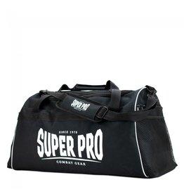 Super Pro Super Pro Combat Gear Gym Sports Bag Black / White