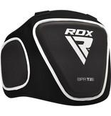 RDX Borstbeschermer T2 Zwart van gepatenteerde Maya Hide