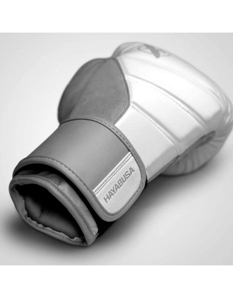 HAYABUSA T3 BOXING GLOVES White/Grey