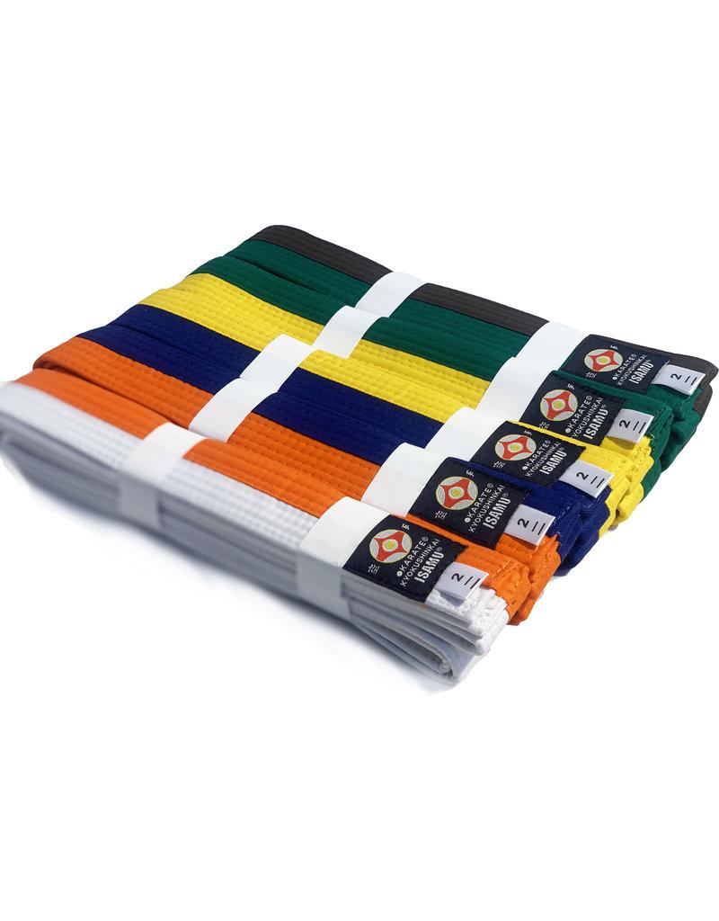 ISAMU 勇ISAMU Double Colored Belt