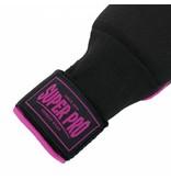 Super Pro Super Pro Inner Gloves With Wraps Black/Pink