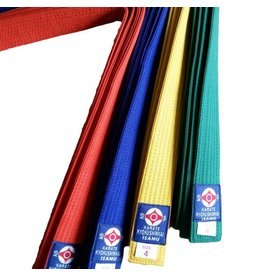 ISAMU 勇ISAMU STANDARD KYOKUSHINKAI COLOR KYU BELTS
