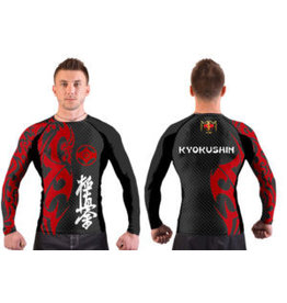 "ISAMU 勇ISAMU KYOKUSHIN ""ATTACK"" FIGHT RASHGUARD"