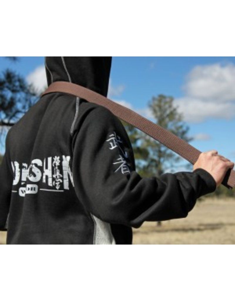 ISAMU 勇 ISAMU KYOKUSHIN WARRIOR FULL ZIP HOODY
