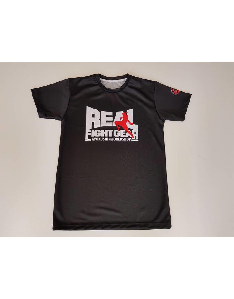 REALFIGHTGEAR Real Fightgear T-shirt - Zwart