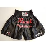 REALFIGHTGEAR Real Fightgear kickboxbroekje - Zwart