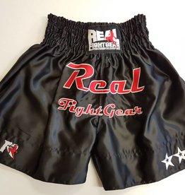 REAL FIGHTGEAR (RFG) Kickbox shorts - Black