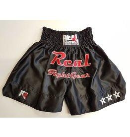 REAL FIGHTGEAR (RFG) Kickboxbroekje - Zwart