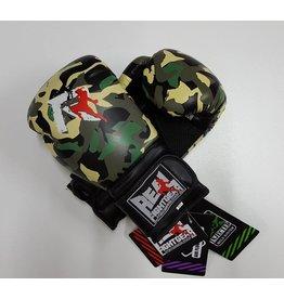 REALFIGHTGEAR Box handschoenen - Camo Groen