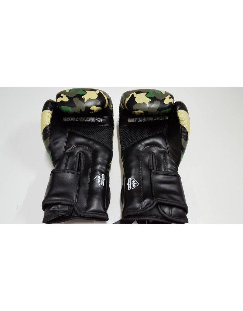 REALFIGHTGEAR Real Fightgear Box handschoenen - Camo Groen