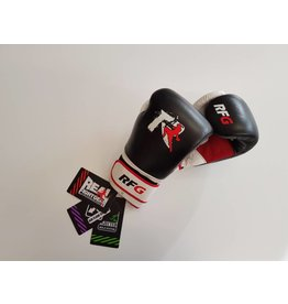 REALFIGHTGEAR Real Fightgear BXBW-1 Boxing gloves - Black/White