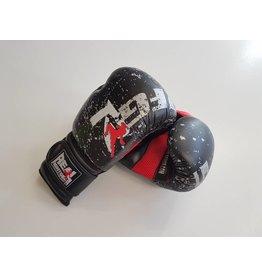 REALFIGHTGEAR BXBR-1 Boks Handschoenen - Zwart/Rood