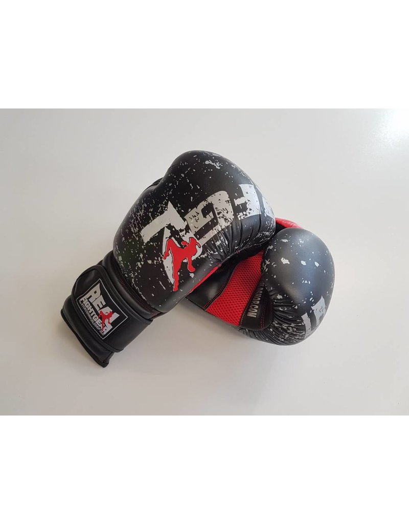 REAL FIGHTGEAR (RFG) Real Fightgear BXBR-1 Boxing gloves - Black/Red