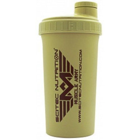 SCITEC NUTRITION Scitec Shaker muscle Army Light brown