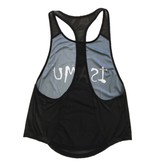 ISAMU Isamu Swing Fit Sport Top - Zwart