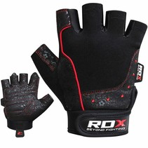 Gym glove Armara red stone Woman