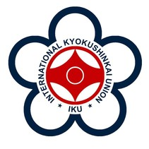 IKU INTERNATIONAL KYOKUSHINKAI UNION  LOGO EMBROIDERY