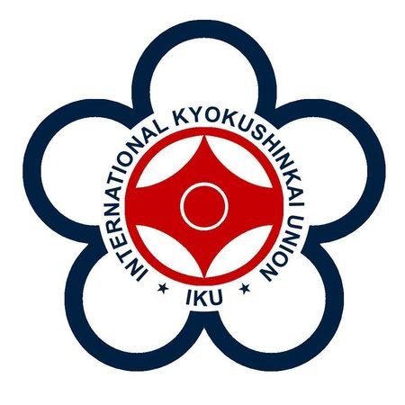 IKU INTERNATIONAL KYOKUSHINKAI UNION  LOGO EMBROIDERY