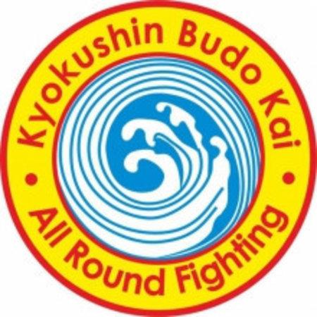 Kyokushin Budokai All Round Figthing logo borduring