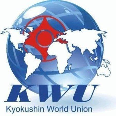 Kyokushin World Union logo borduring