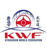 Kyokushin World Federation logo borduring