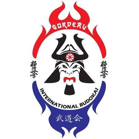 ISAMU INTERNATIONAL BUDOKAI KARATE ORGANIZATION LOGO BORDURING