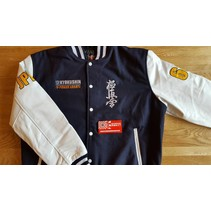Kyokushin Power Karate Varsity jacket - Navy Blue