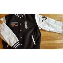 Kyokushin Ichigeki Varsity jacket - Black