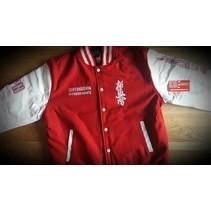 Kyokushin Power Karate  Varsity jacket - Red