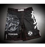 ISAMU ISAMU KYOKUSHIN KARATE FIGHT SHORTS-RYUU ZW/GRIJS