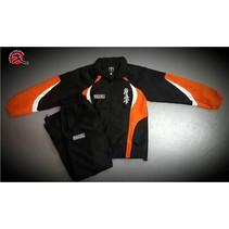 TEAM TRACKSUITE - Black & orange