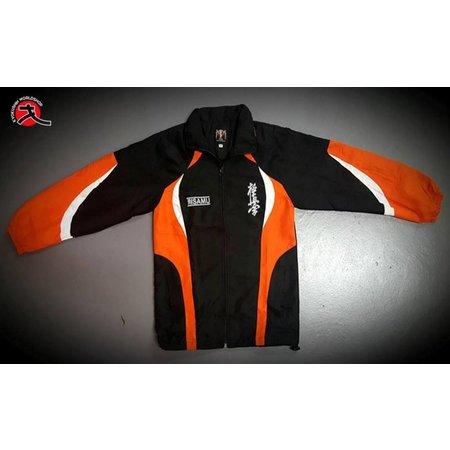 ISAMU  ISAMU TEAM TRACKSUITE - Black & orange
