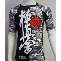 Kyokushin Rashguard - Camo grey