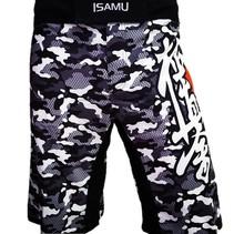 Kyokushin Shorts - Camo Grijs