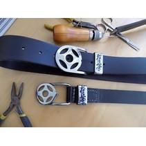 Buffalo Leather Belt €œ Kyokushin Kanku