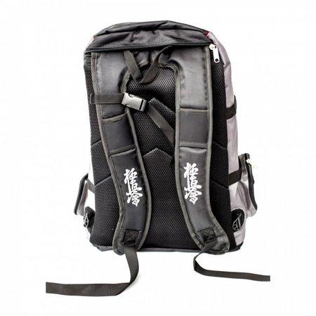 "ISAMU ISAMU Multifunctional Embrodered ""Kyokushin warrior backpack / duffel bag"""