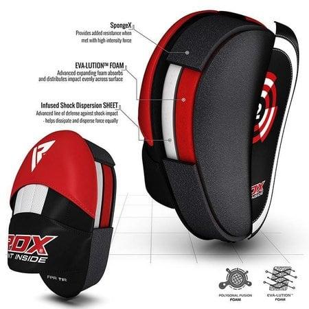 RDX SPORTS RDX T1 RED BOXING PADS