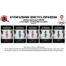 5 VOLUMES - KYOKUSHIN SYLLABUS ENCYCLOPAEDIA