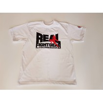 REAL FIGHTGEAR T-SHIRT - White