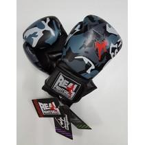 Box handschoen - Camo Grijs/Zwart
